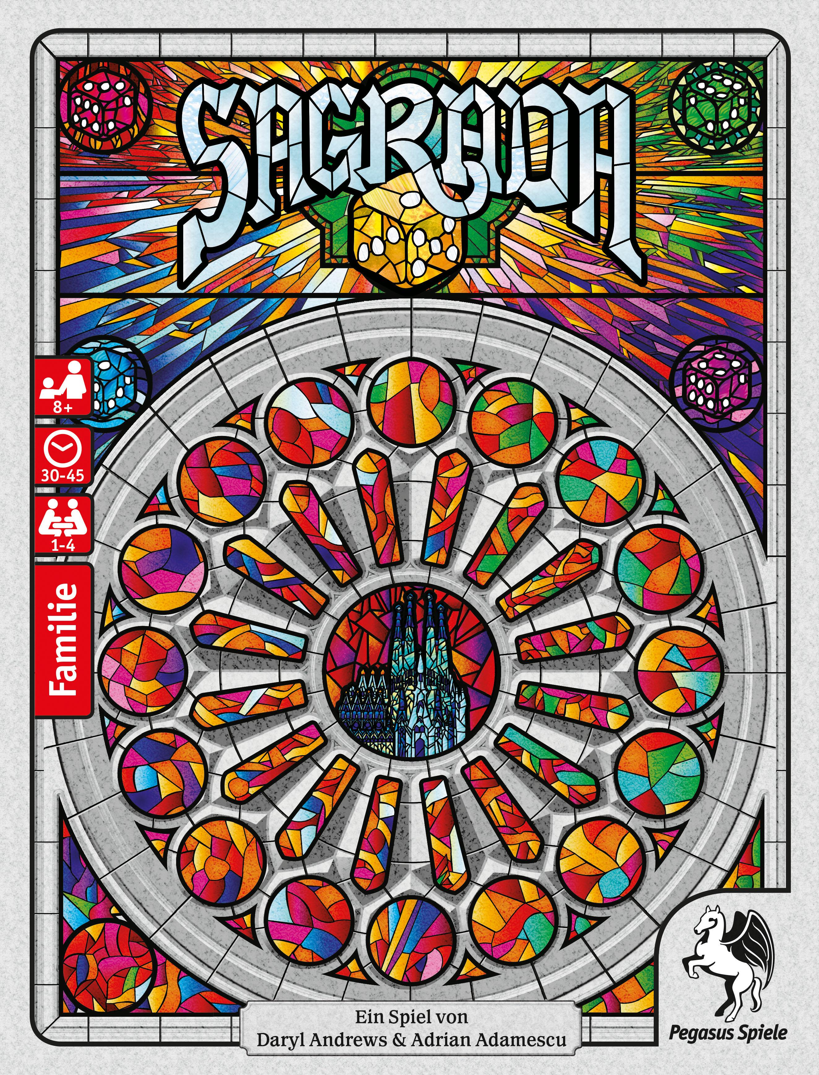 Bild von Sagrada erscheint bei Pegasus Spiele