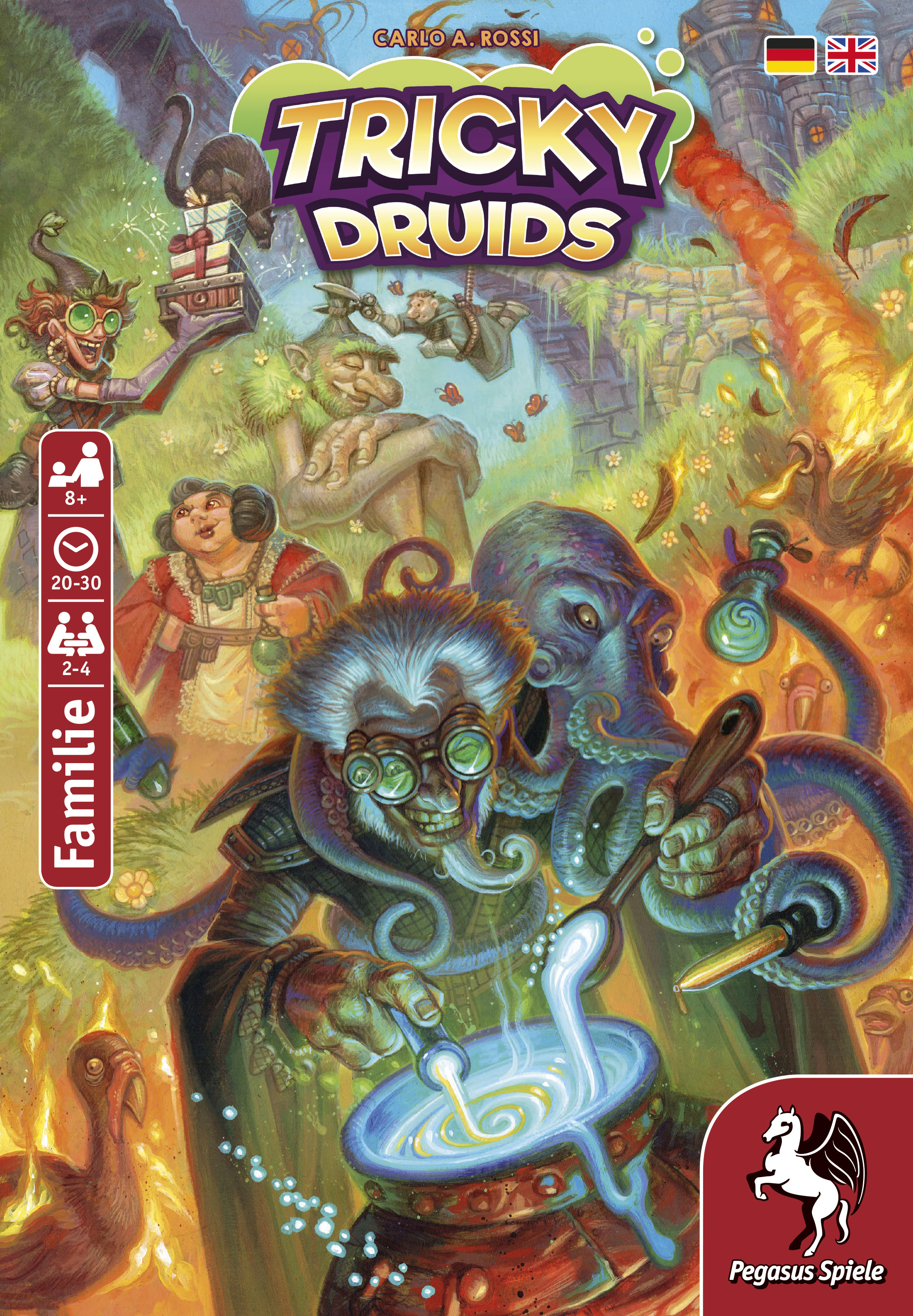 Tricky Druids Cover - Pegasus Spiele