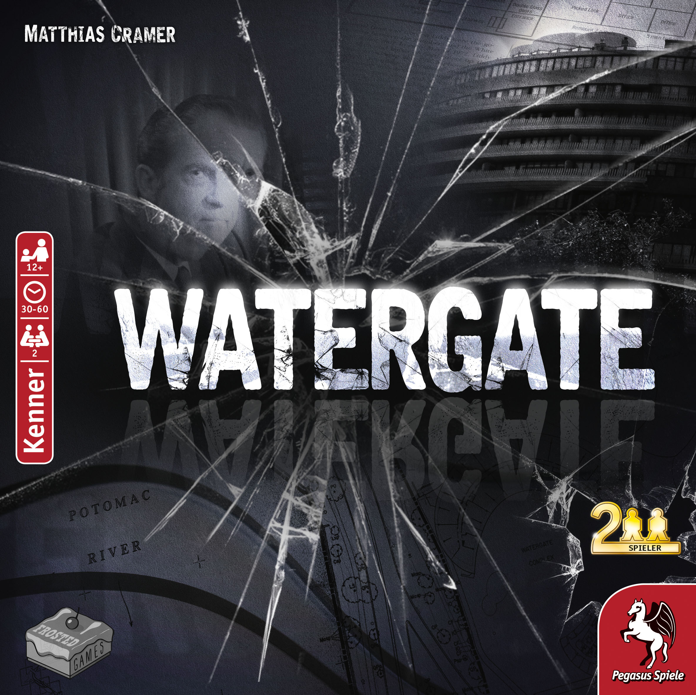 Watergate Cover - Frosted Games, Pegasus Spiele