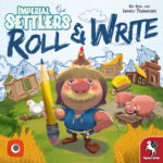 Imperial Settlers Roll & Write Cover - Pegasus Spiele
