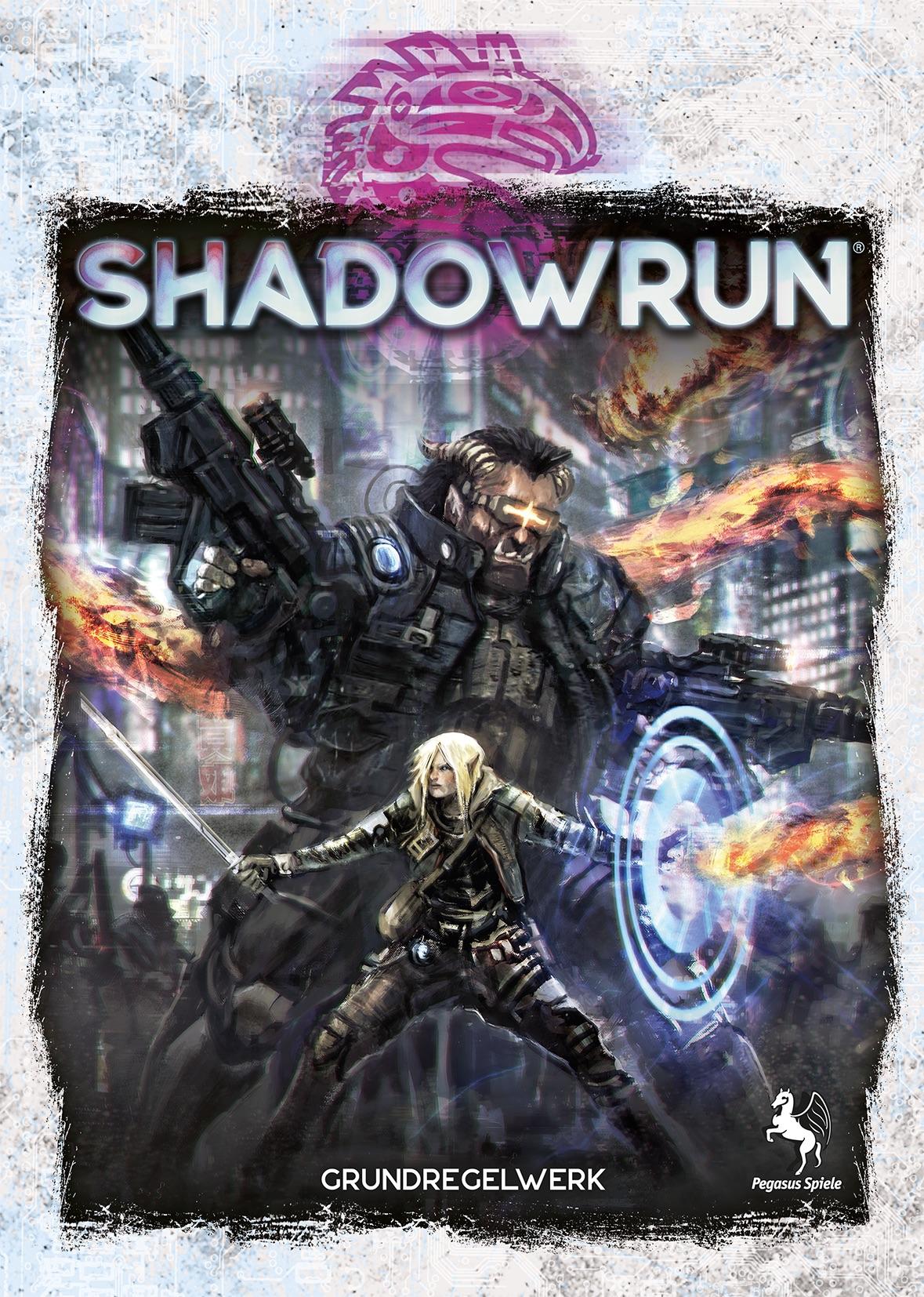 Bild von Pegasus veröffentlicht kostenlosen Schnellstarter für Shadowrun 6