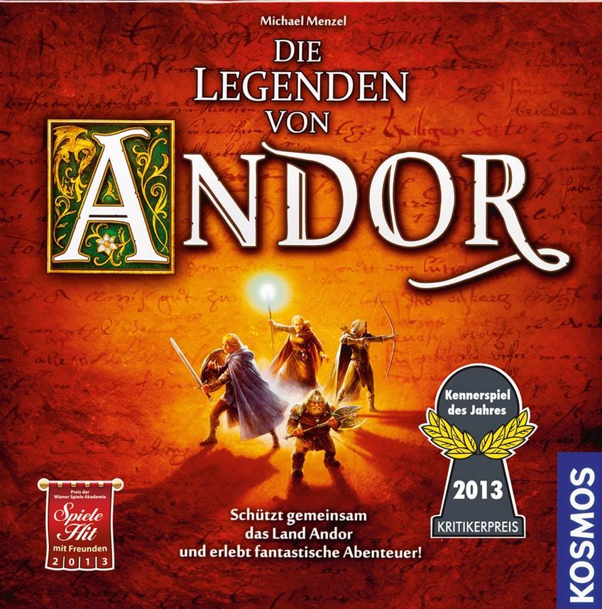 Die Legenden von Andor Cover - Kosmos