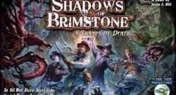 Shadows of Brimstone: Swamps of Death Cover - Flying Frog Productions