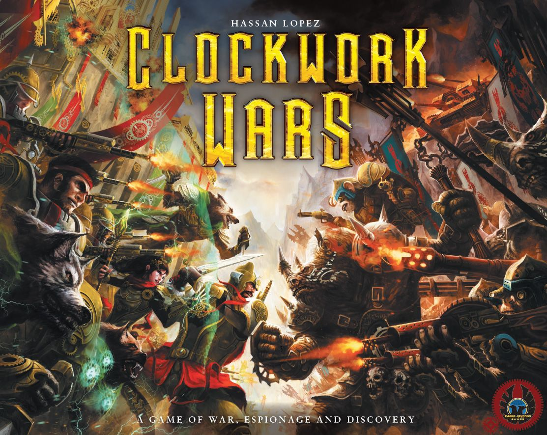 Clockwork Wars Cover - Eagly-Gryphon Games