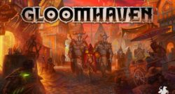 Gloomhaven Cover - Cephalofair Games, Feuerland Spiele