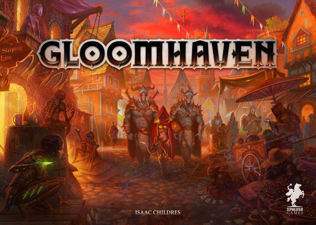 Bild von 2. deutsche Gloomhaven Auflage trifft ein