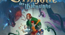 Das Grimoire des Wahnsinns Cover - IELLO, Heidelberger Spieleverlag