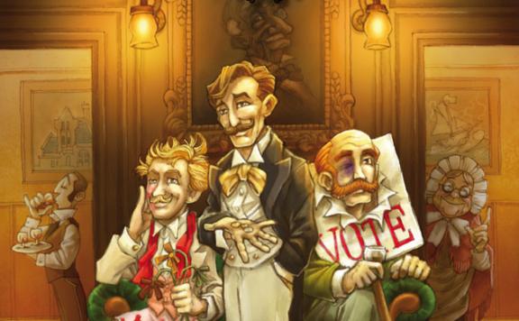 Der Club der Verschwender Cover - Czech Games Edition