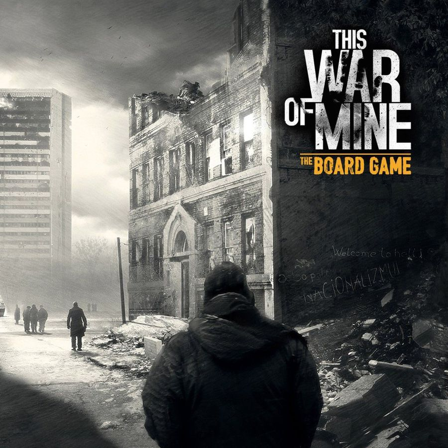 This War of Mine Brettspiel Cover - asmodee, Awaken Realms