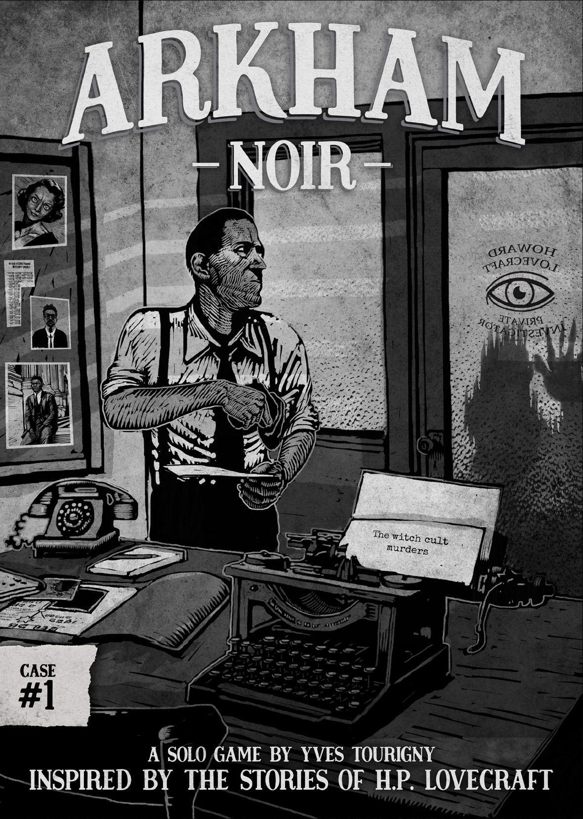 Arkham Noir Cover - asmodee