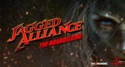 Jagged Alliance: The Board Game Cover - Underground Games