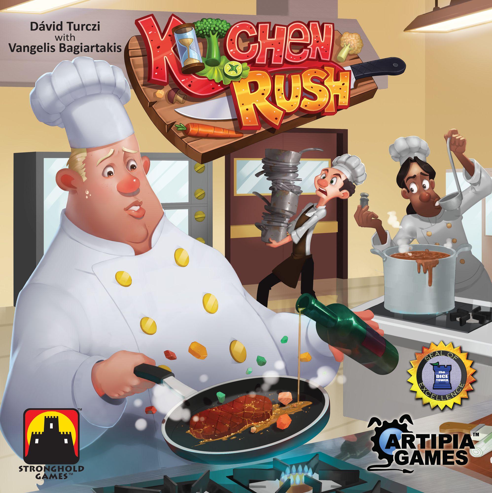 Bild von Pegasus Spiele veröffentlicht Kitchen Rush auf deutsch