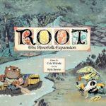 Root: Die Flussvolk Erweiterung Cover - Quality Beast, Leder Games