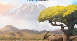 Ecos: Der erste Kontinent Cover - AEG