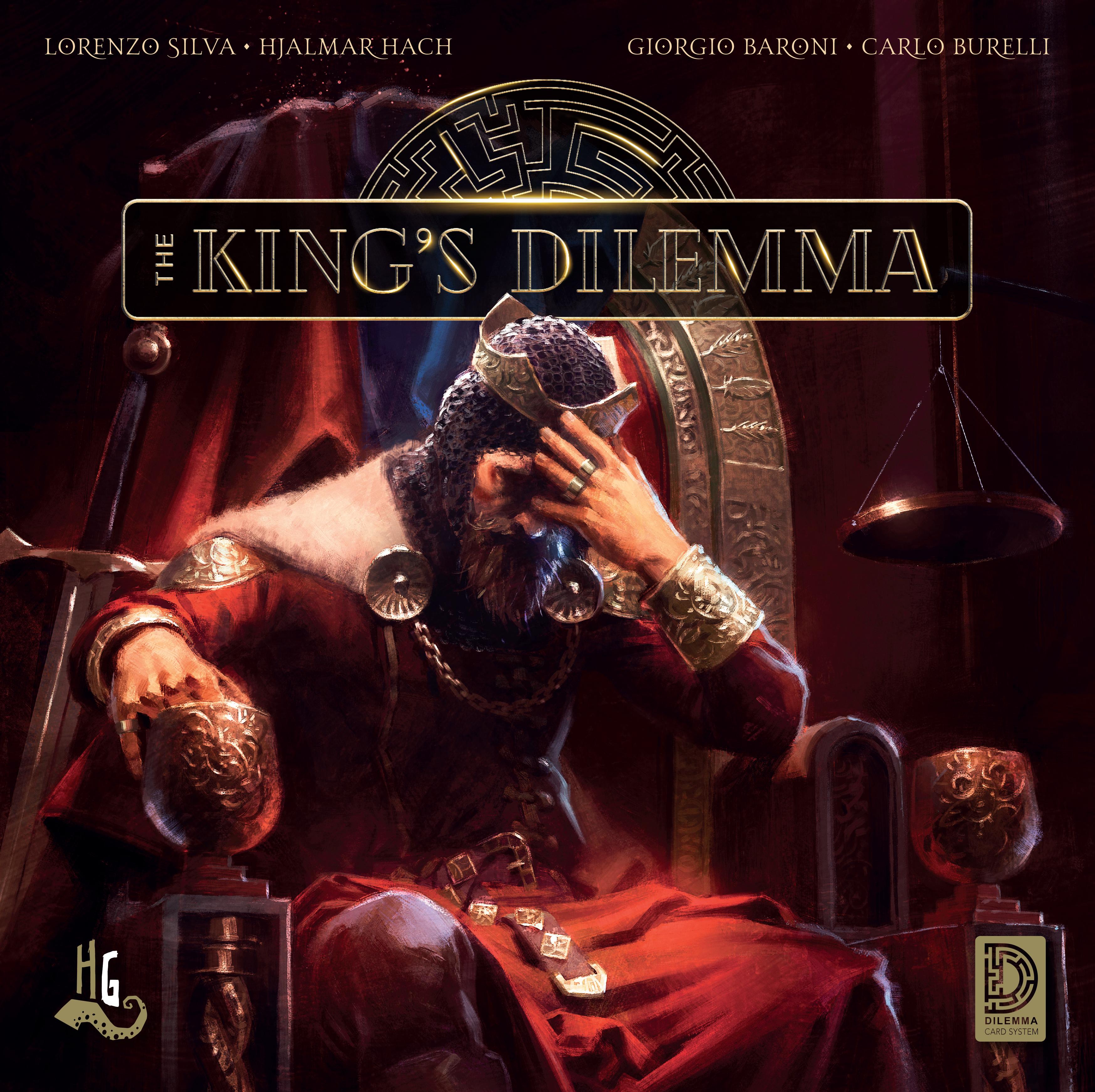 The Kings Dilemma Cover - HeidelBär Games, Horrible Games