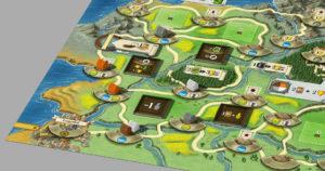 Spielplan Ausschnitt von Newdale
