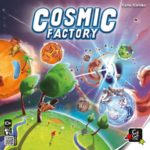 Cosmic Factory Cover - Board Game Circus