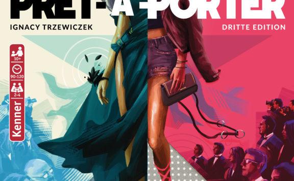 Prêt-á-Porter Cover - Pegasus Spiele, Portal Games