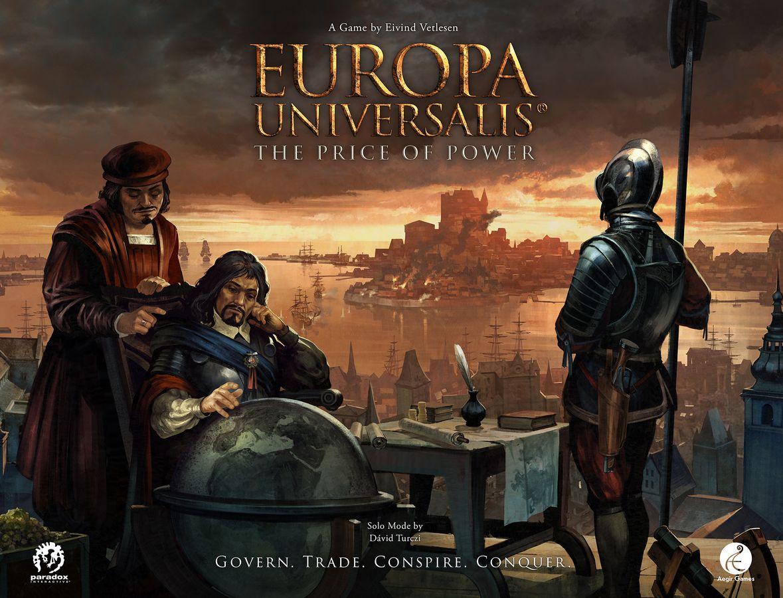 Bild von Europa Universalis Brettspiel auf Kickstarter