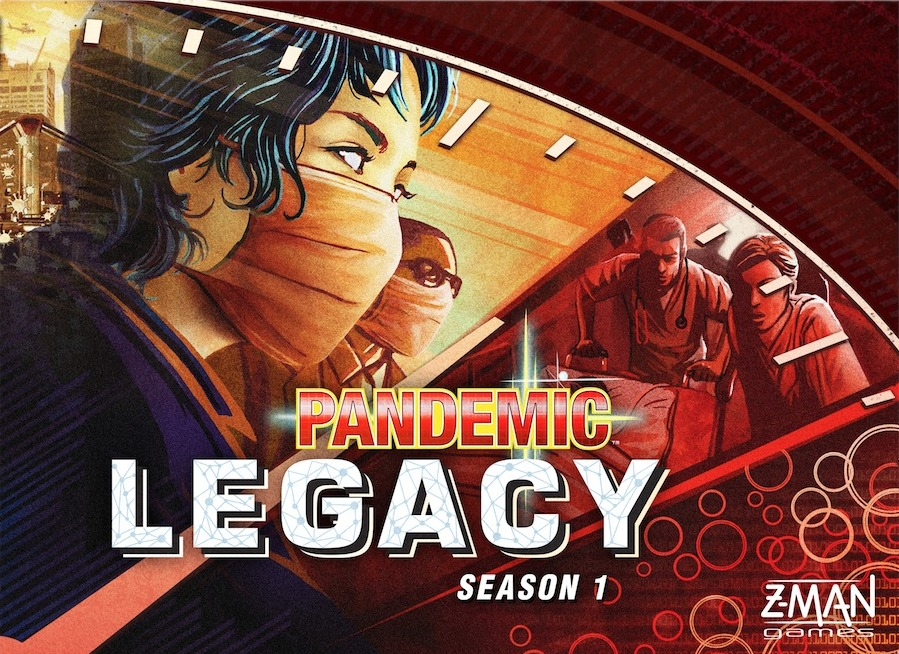 Pandemic Legacy: Season 1 Cover - ZMAN