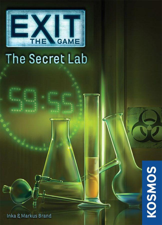 EXIT Das geheime Labor Cover - Kosmos