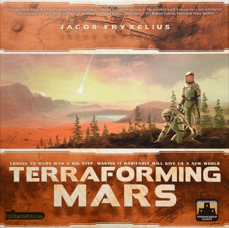 Terraforming Mars Cover - Fryx Games