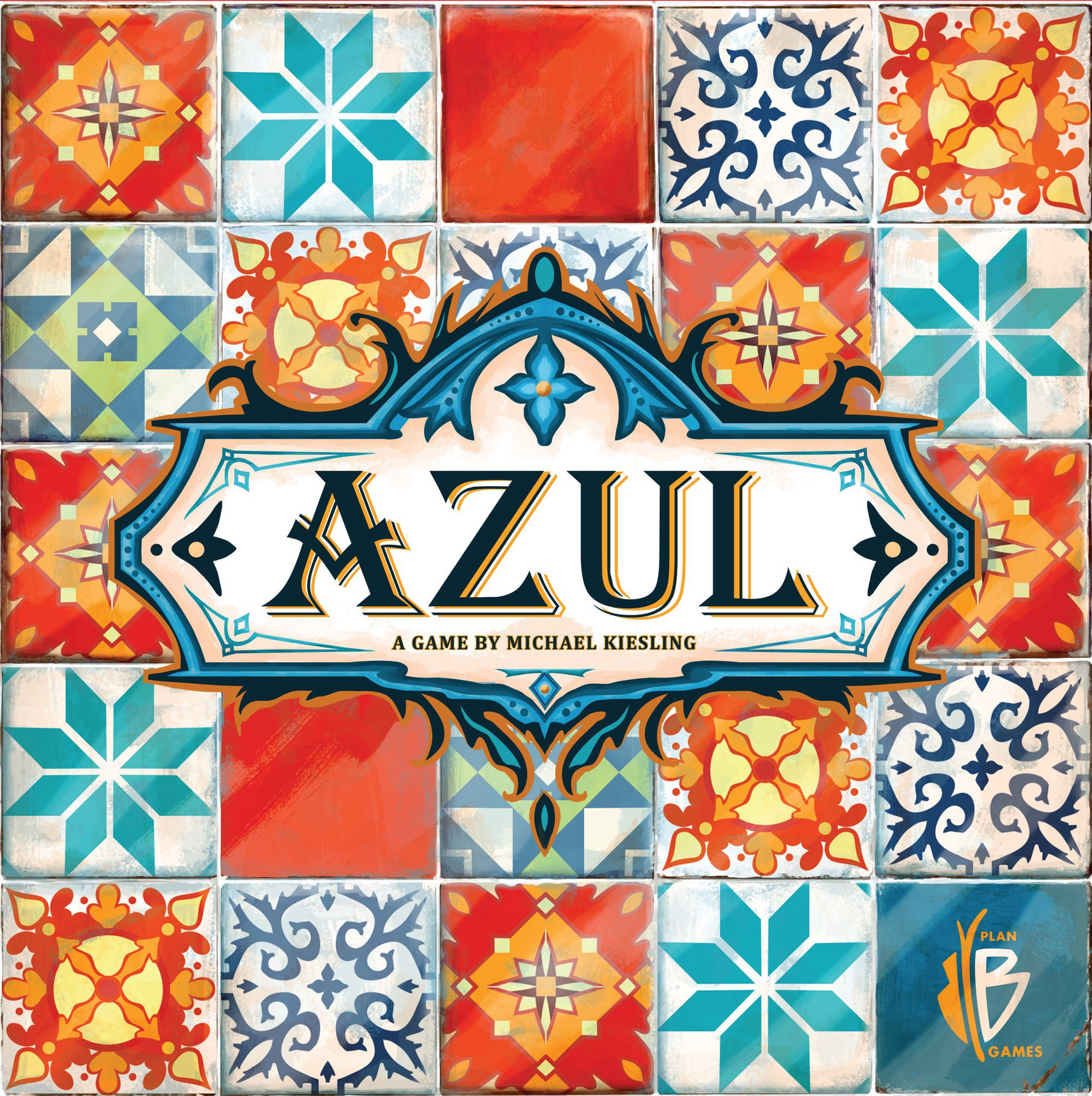 Azul Cover - Plan B Games