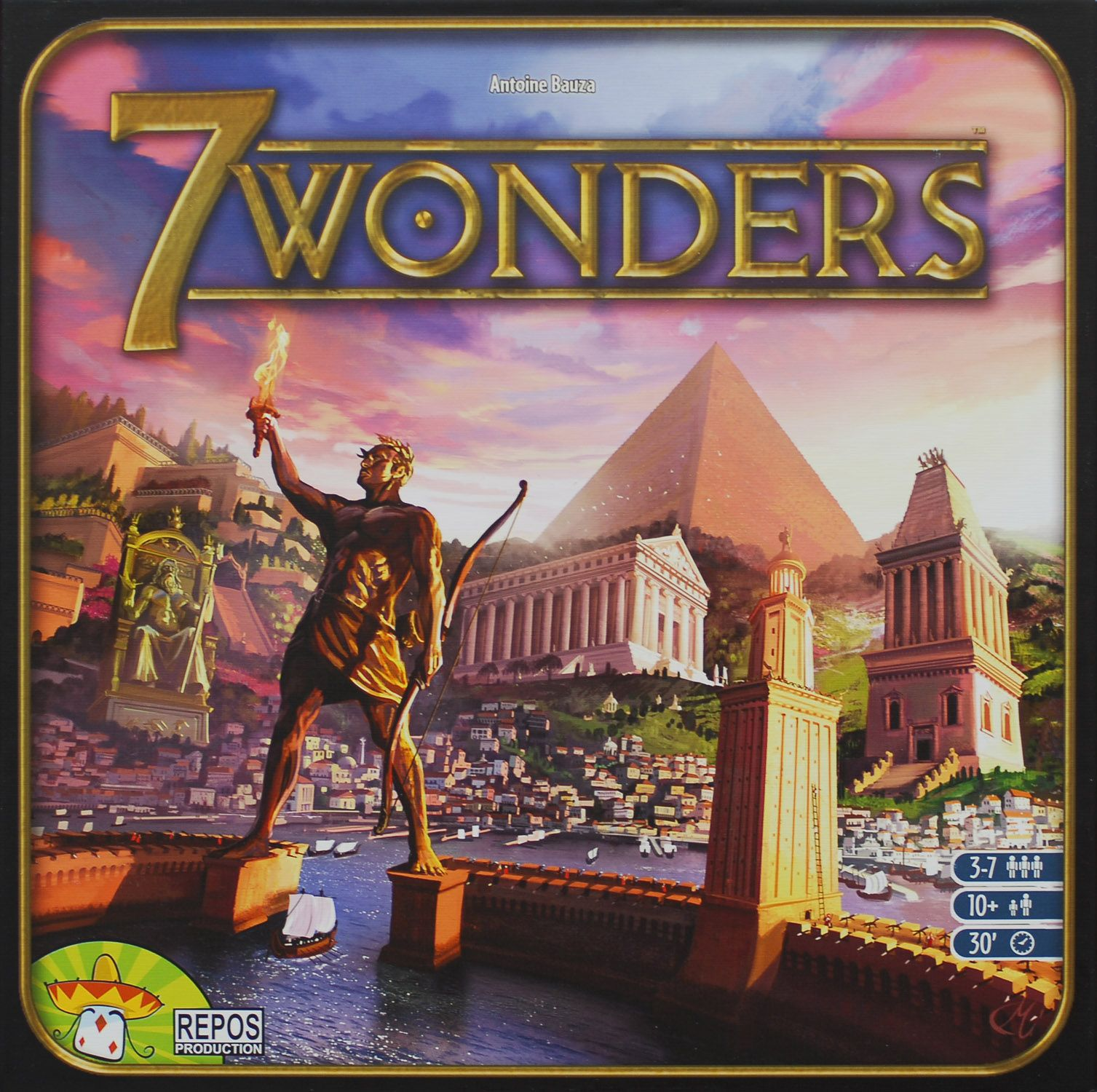 7 Wonders Cover - Repos Production