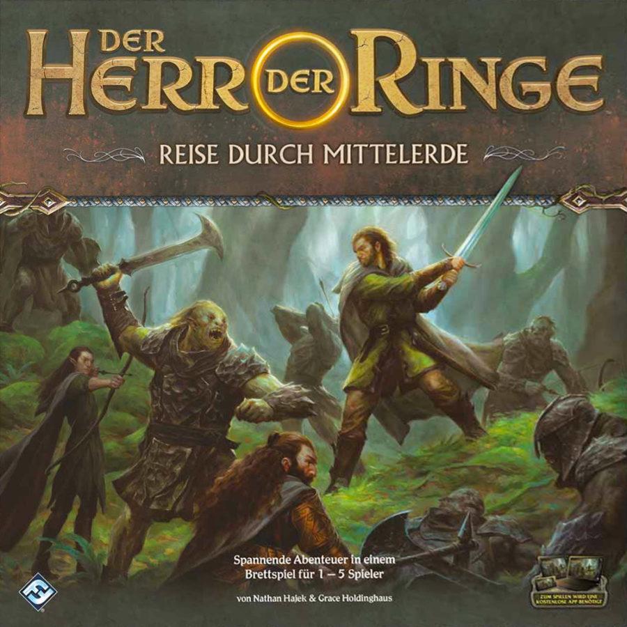 Spielhilfe Der Herr der Ringe: Reise durch Mittelerde v.1.0